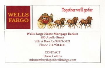 Drew Collins, Wells Fargo Home Mortgage